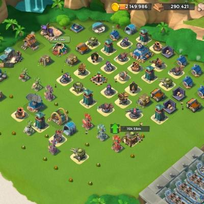 Bases Boom Beach Papys Warriors
