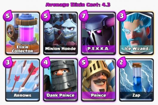 Deck anti geant royal clash royale