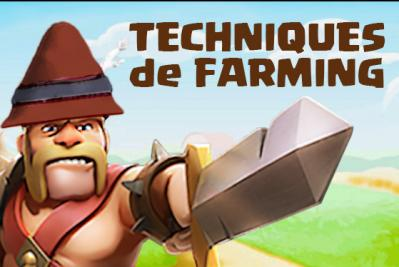 Farming clash of clans barbare
