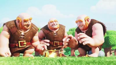 Geants dans clash of clans