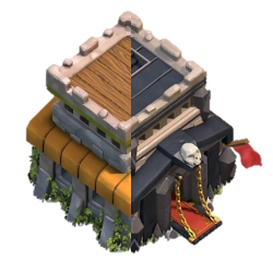 Hdv 8 5 clash of clans papys warriors