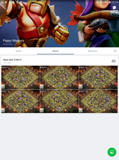 Line &  Skitch  (2 applications indispensables)  Line-album-photo-clash-of-clans-papys-warriors