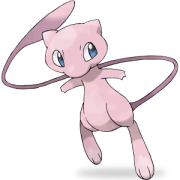 Mew pokemon legendaire