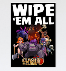 Poster wipe em all