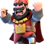 Roi rouge colere clash royale supercell