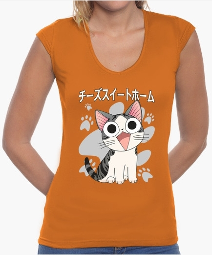 T shirt femme chat chi cute