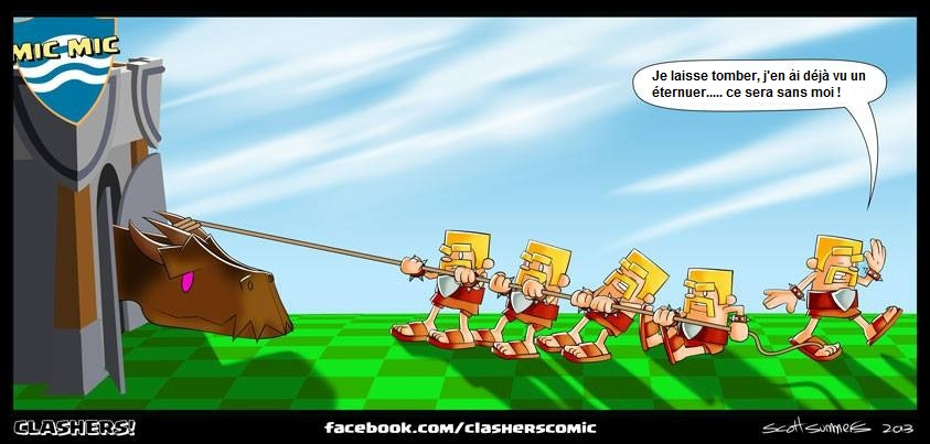Bande Dessinée Clash Of Clans Par Scott Summers