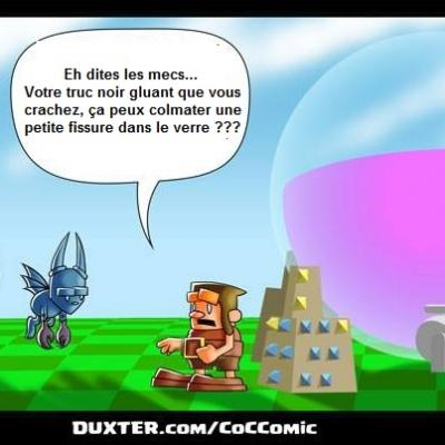 bd scott summers clash of clans gargouille