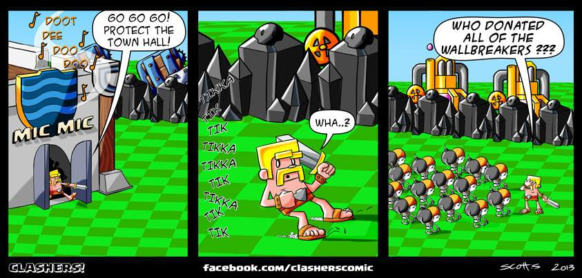 bd scott summers clash of clans troupe chateau sapeur