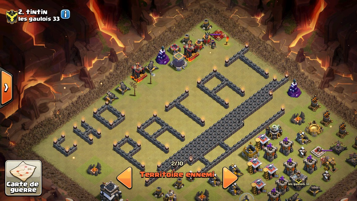 Chaud Patate base CoC