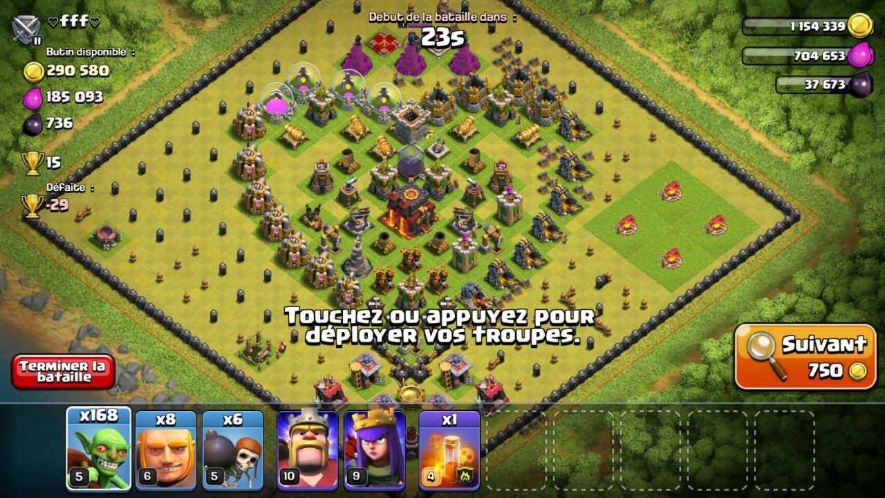 Coeur village fun CoC