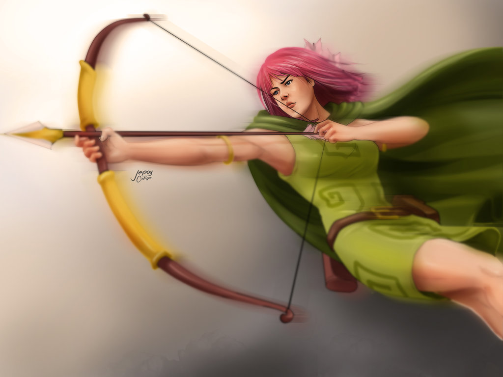Archer Jepoyeee Clash of Clans fan art
