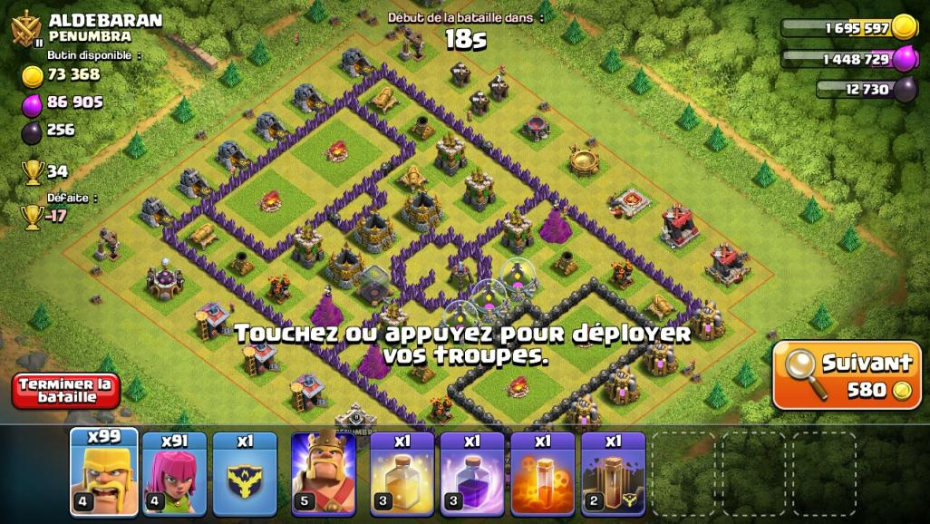 Football Clash of Clans