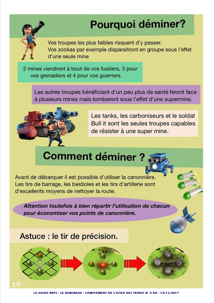 Guide déminage Boom Beach BBFS P2