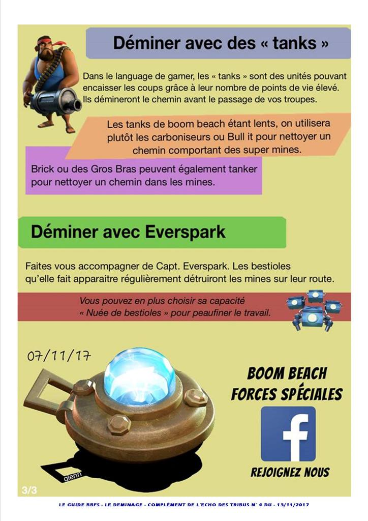 Guide déminage Boom Beach BBFS P3