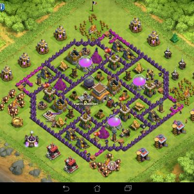 top bases protection des ressources clash of clans. Black Bedroom Furniture Sets. Home Design Ideas