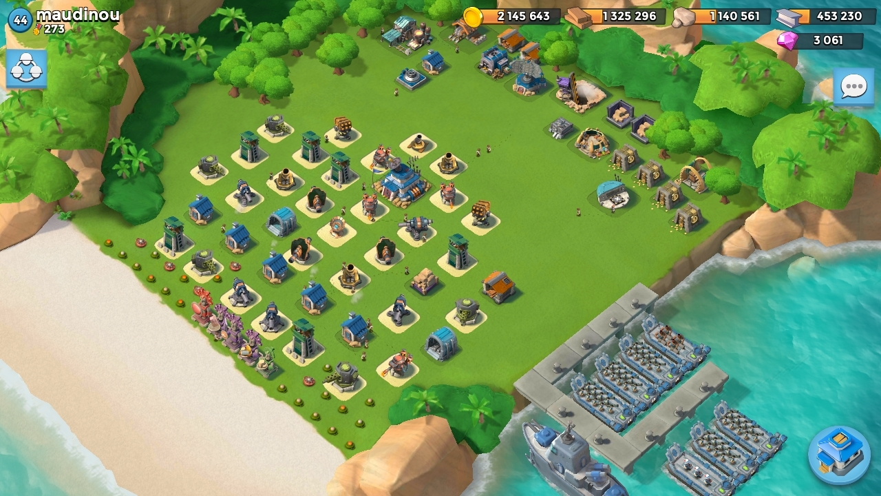 QG 18 Base Maudinou Boom Beach