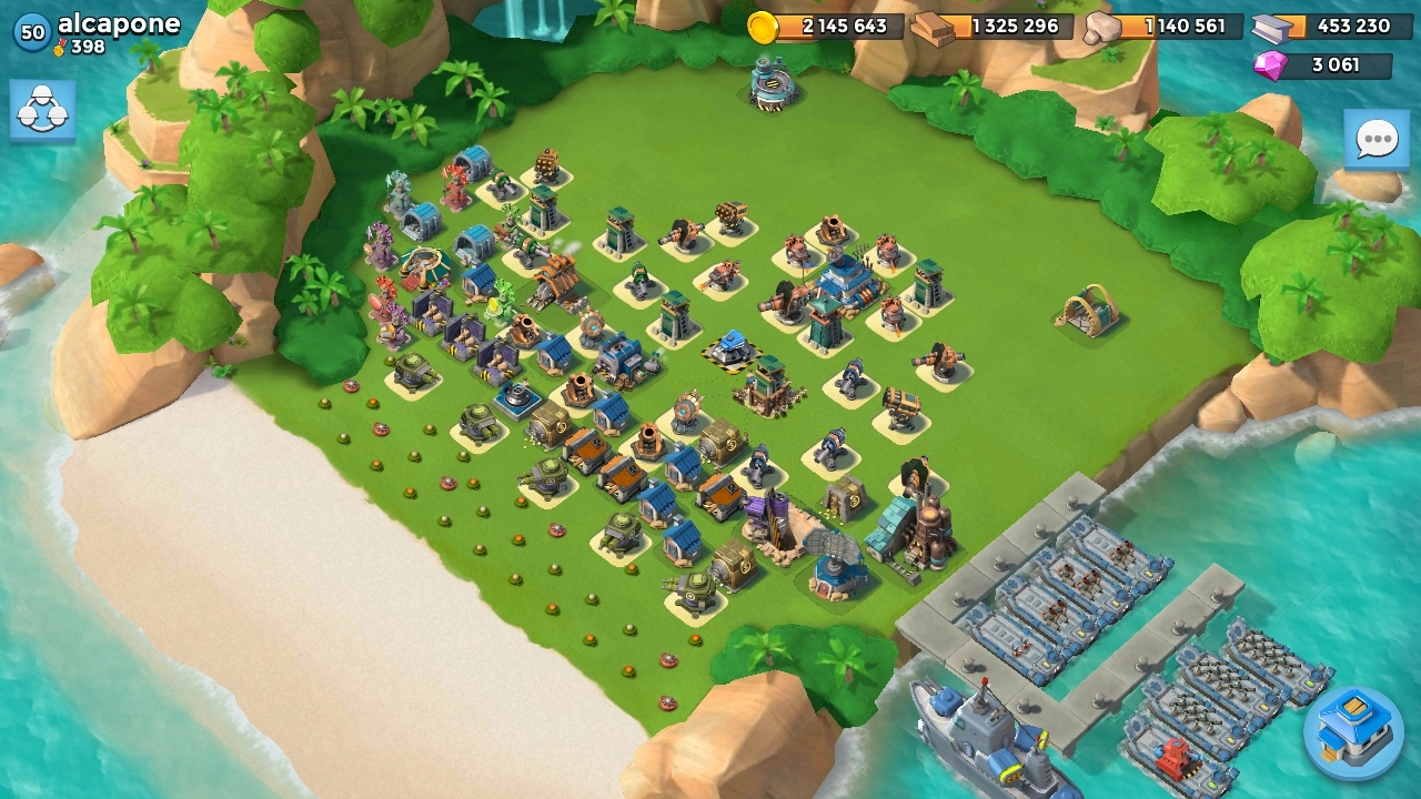 QG 20 Base Alcapone Boom Beach