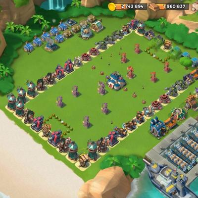 QG 22 Base Football Fun Boom Beach
