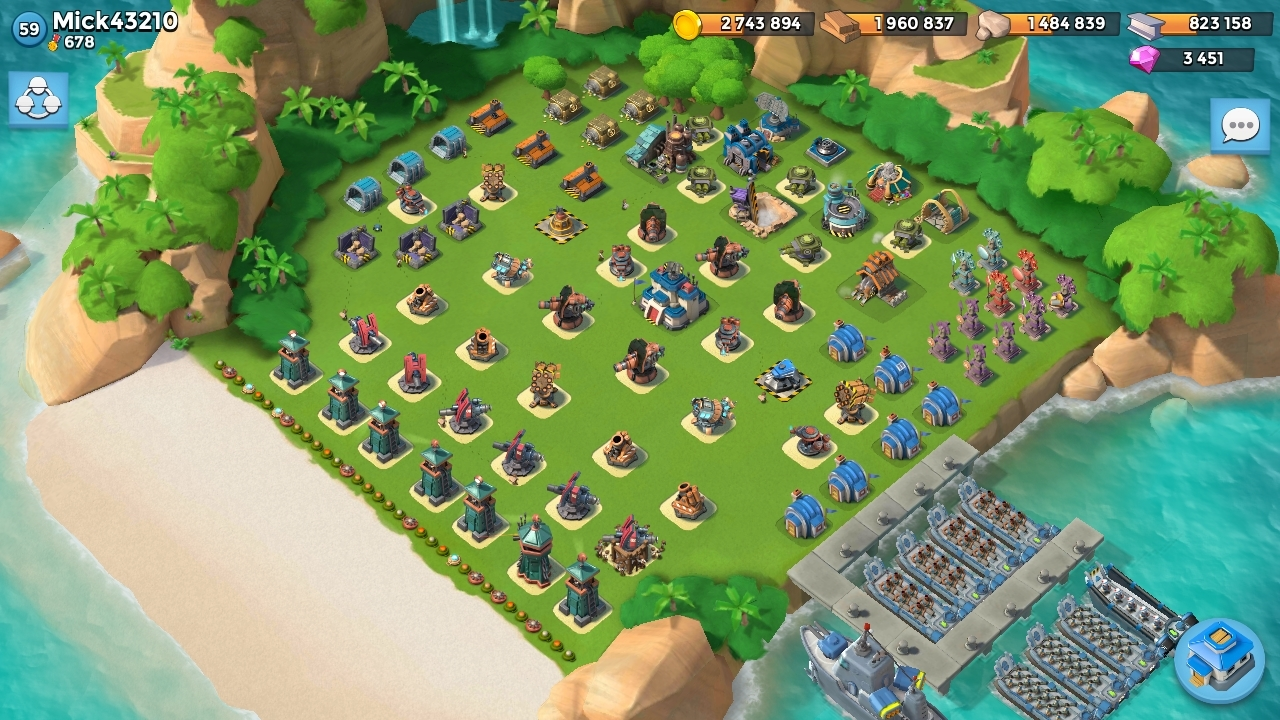QG 22 Base Mick Boom Beach