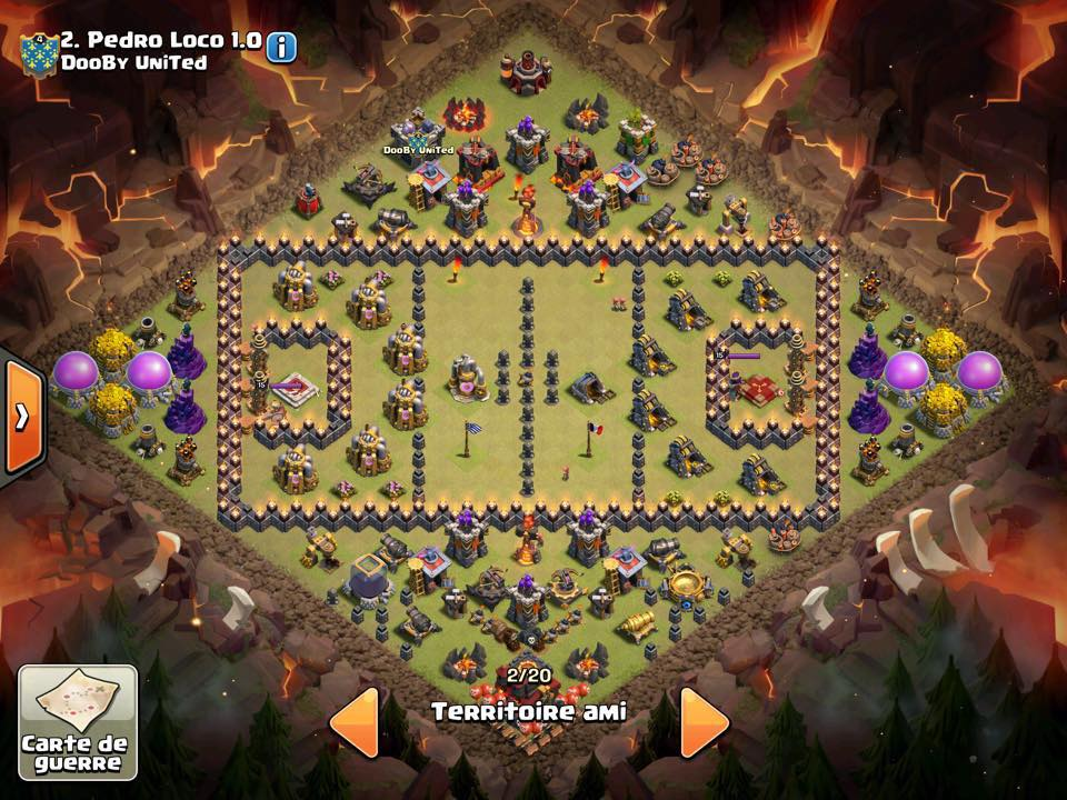 Terrain de foot base CoC
