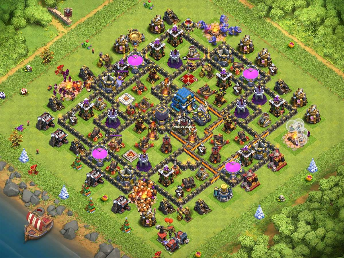 TH12 farming base 2