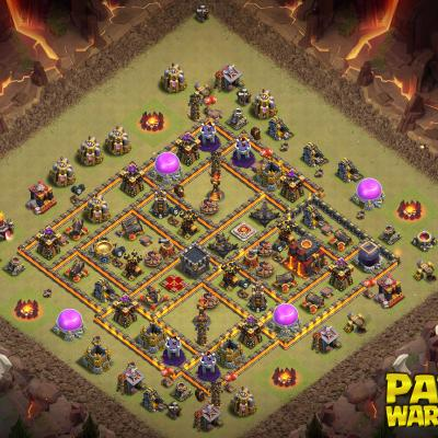 WAR BASE TH10 PAPYS WARRIORS 4