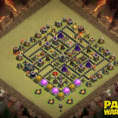 WAR BASE TH9 PAPYS WARRIORS 10