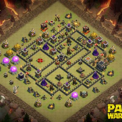 WAR BASE TH9 PAPYS WARRIORS 11