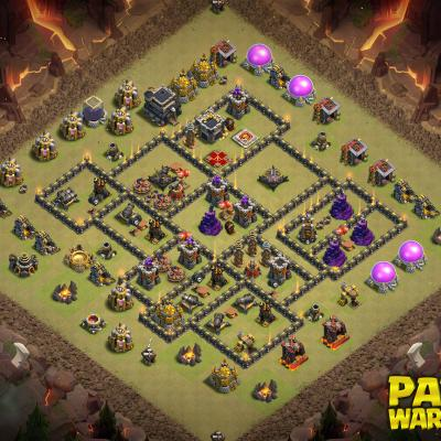 WAR BASE TH9 PAPYS WARRIORS 13
