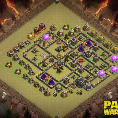WAR BASE TH9 PAPYS WARRIORS 15