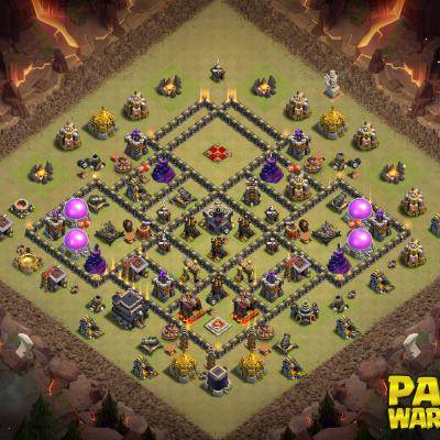 WAR BASE TH9 PAPYS WARRIORS 16