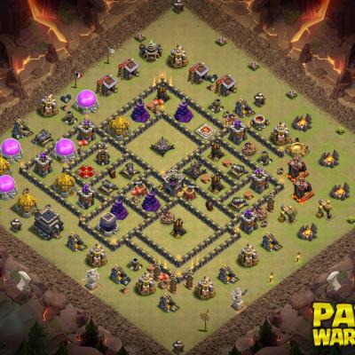WAR BASE TH9 PAPYS WARRIORS 17