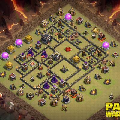 WAR BASE TH9 PAPYS WARRIORS 20