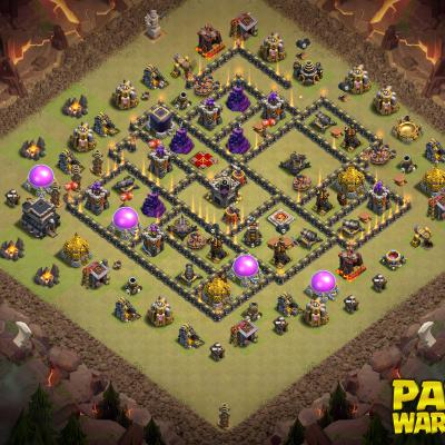 WAR BASE TH9 PAPYS WARRIORS 22