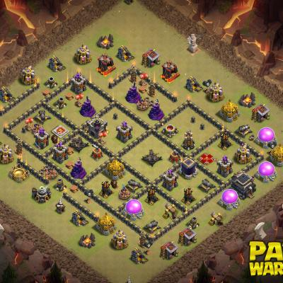 WAR BASE TH9 PAPYS WARRIORS 24