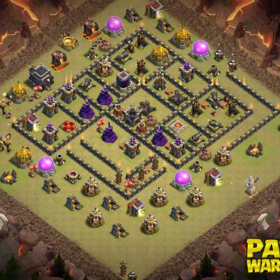 WAR BASE TH9 PAPYS WARRIORS 26