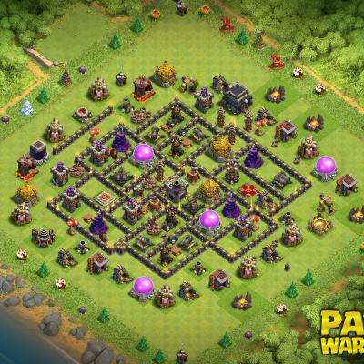 WAR BASE TH9 PAPYS WARRIORS 27