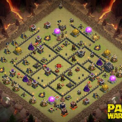 WAR BASE TH9 PAPYS WARRIORS 3