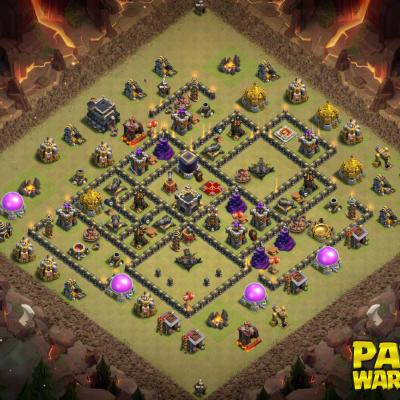 WAR BASE TH9 PAPYS WARRIORS 4