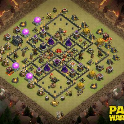 WAR BASE TH9 PAPYS WARRIORS 5