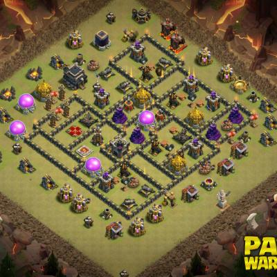 WAR BASE TH9 PAPYS WARRIORS 6