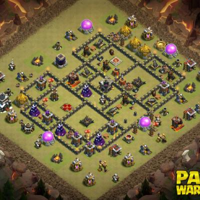 WAR BASE TH9 PAPYS WARRIORS 7