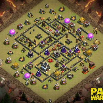 WAR BASE TH9 PAPYS WARRIORS 8