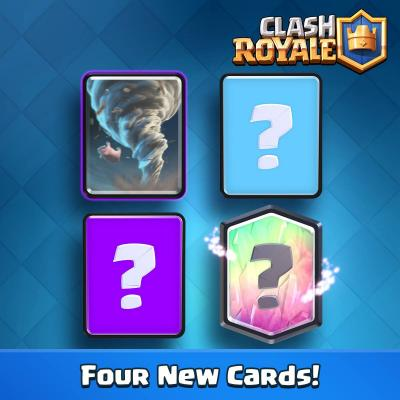 4 nouvelles cartes tornade sneak peek clash royale