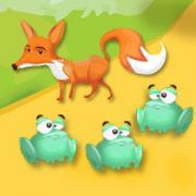 Animaux sauvages renard grenouille hay day