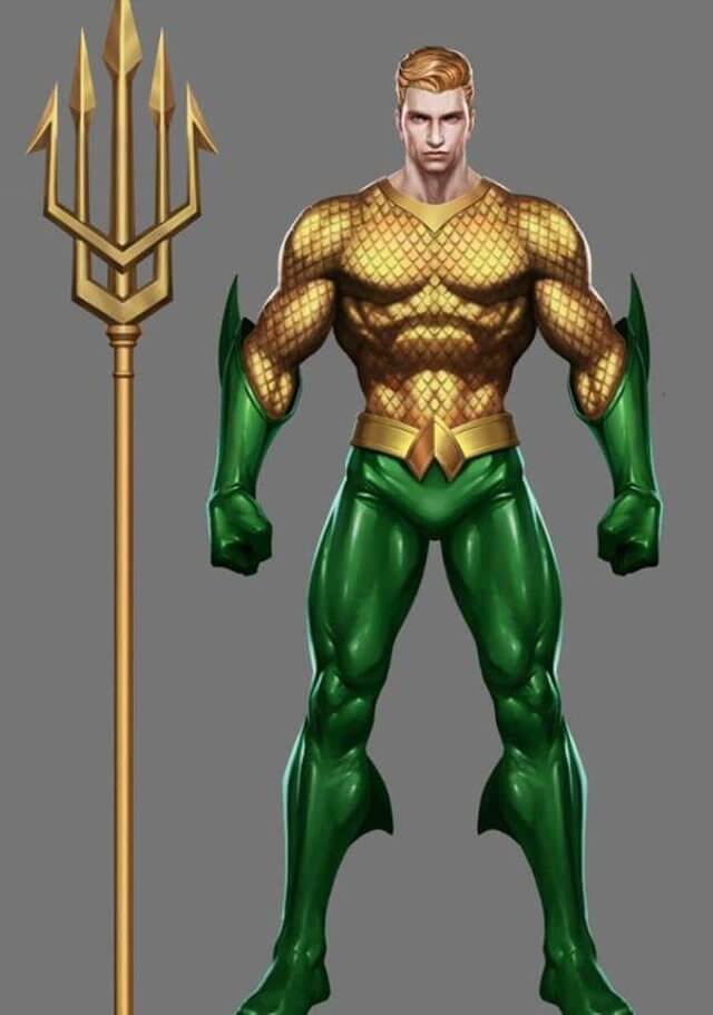 Aquaman dc heros design arena of valor