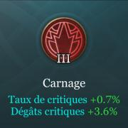 Arcana 3 rouge carnage aov