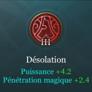 Arcana 3 rouge desolation aov
