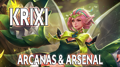 Arena of valor blog heros krixi build arcana arsenal